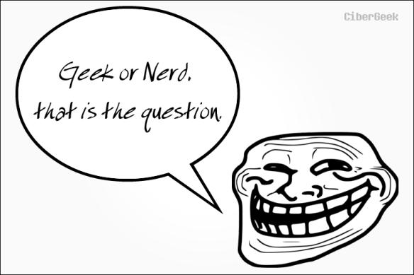 Qual a diferença entre nerd e geek?